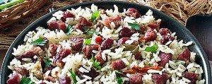 carne seca avec du riz