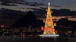 Arbre de Noël de la Lagoa - Rio de Janeiro