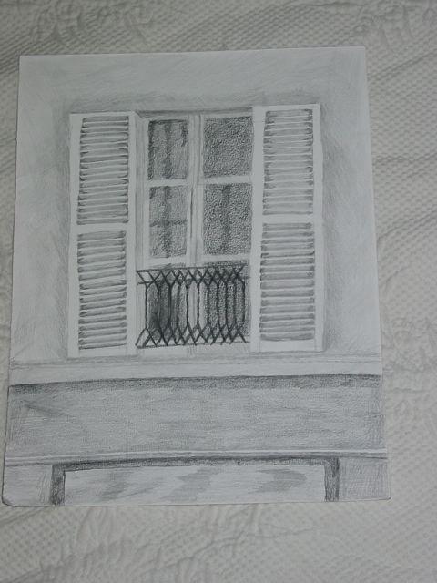 dessin de fenêtre