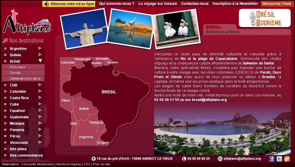 Préparez votre voyage au Brésil  agence-voyages-altiplano-bresil1