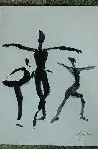poème de Georges Moustaki danse-199x300
