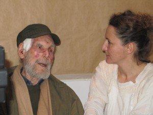 Frans Krajcberg et Julie Binet