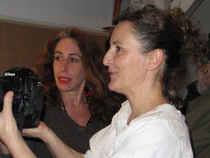 Anouk Garcia et Julie Binet