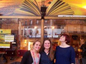 L'équipe du Festival - Isabelle, Pauline, Juliette